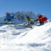 FREE STYLE - FIS WC Arosa, Ski Cross, Damen
